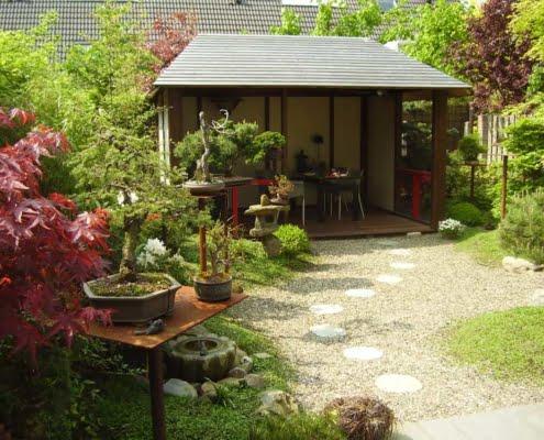 Japanse tuinaanleg